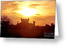 Castle Northern Ireland Greeting Card by Thomas R Fletcher