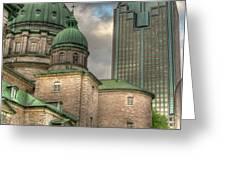 Cathedral Greeting Card by Elisabeth Van Eyken