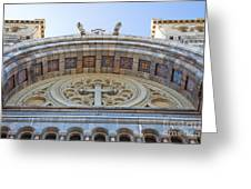Cathedral Of St Vincent De Paul Iv Greeting Card by Irene Abdou