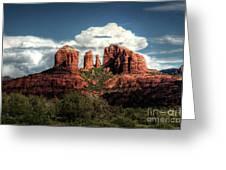 Cathedral Rock - Sedona  Greeting Card by Saija  Lehtonen