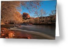 Cathedral Rock Sedona Arizona Greeting Card by Larry Marshall