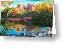 Cathedral Rock - Sedona Greeting Card by Steve Simon