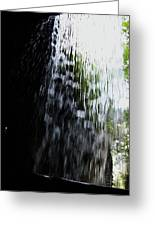 Cavern Cascade Watkins Glen Greeting Card by InTheSane DotCom