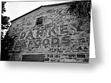 Cedar Key Sea Foods Greeting Card by David Lee Thompson