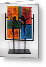 Celebrate The Possibilities Greeting Card by Mark Lubich