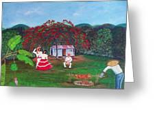 Celebration Greeting Card by Gloria E Barreto-Rodriguez
