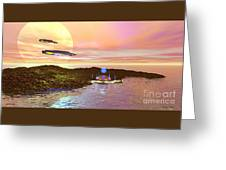 Celeron 3 Greeting Card by Corey Ford