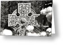 Celtic Cross I Greeting Card by Tom Mc Nemar