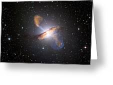 Centaurus A Black Hole Greeting Card by Nasa