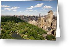 Central Park In New York City Greeting Card by Joel Sartore