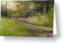 Central Park Greeting Card by Jennifer Lommers