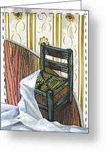Chair Iv Greeting Card by Peter Allan