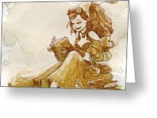 Chamomile 2 Greeting Card by Brian Kesinger