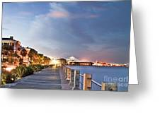 Charleston Battery Photography Greeting Card by Dustin K Ryan