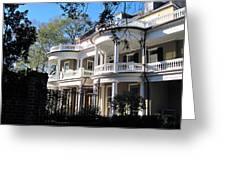 Charlestons Beautiful Architecure Greeting Card by Susanne Van Hulst