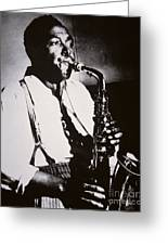 Charlie Parker Greeting Card by American School
