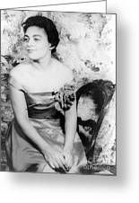 Charlotte Holloman (1922-) Greeting Card by Granger