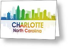 Charlotte Nc Greeting Card by Angelina Vick
