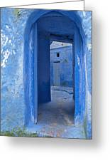 Chefchaouen 2 Greeting Card by Kenton Smith