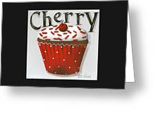 Cherry Celebration Greeting Card by Catherine Holman