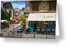 Chez Julien Greeting Card by Inge Johnsson