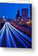 Chicagos Lake Shore Drive Greeting Card by Steve Gadomski