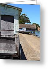 China Camp In Marin Ca - Vertical Greeting Card by Wingsdomain Art and Photography