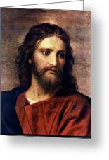 Christ At 33 Greeting Card by Heinrich Hofmann