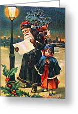 Christmas Card Greeting Card by Granger