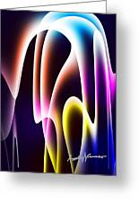 Chromasine Greeting Card by Anthony Caruso