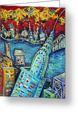 Chrysler Building Greeting Card by Jason Gluskin