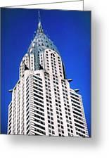 Chrysler Building Greeting Card by John Greim