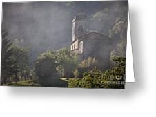 Church In Partigliano Greeting Card by Steven Gray