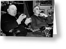 CHURCHILL & ROOSEVELT Greeting Card by Granger