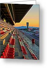 Circuit De Catalunya - Barcelona  Greeting Card by Juergen Weiss