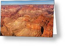 City - Arizona - Grand Canyon - The Great Grand View Greeting Card by Mike Savad