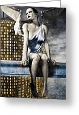 City Angel -2 Greeting Card by Bob Orsillo