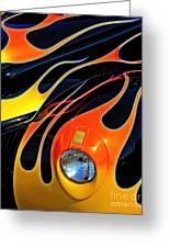 Classic Flames Greeting Card by Perry Webster