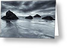 Clearing Storm Greeting Card by Mike  Dawson