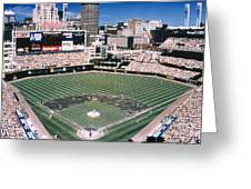 Cleveland: Jacobs Field Greeting Card by Granger