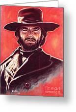 Clint Eastwood Greeting Card by Anastasis  Anastasi