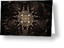 Clockwork Greeting Card by John Edwards