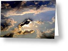 Cloud Nine 4 Greeting Card by Will Borden