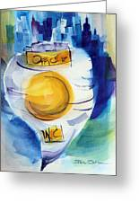 Cmpd No 1. Greeting Card by Josh Chilton