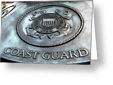 Coast Guard Greeting Card by LeeAnn McLaneGoetz McLaneGoetzStudioLLCcom