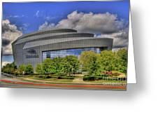 Cobb Energy Center Greeting Card by Corky Willis Atlanta Photography