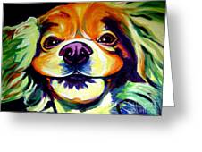 Cocker Spaniel - Cheese Greeting Card by Alicia VanNoy Call