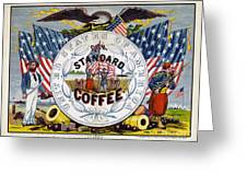 Coffee Label, C1862 Greeting Card by Granger