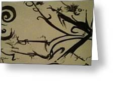 coffeetripnumberB Greeting Card by TripsInInk