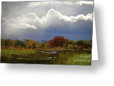 Cold Front Greeting Card by Robert Pearson